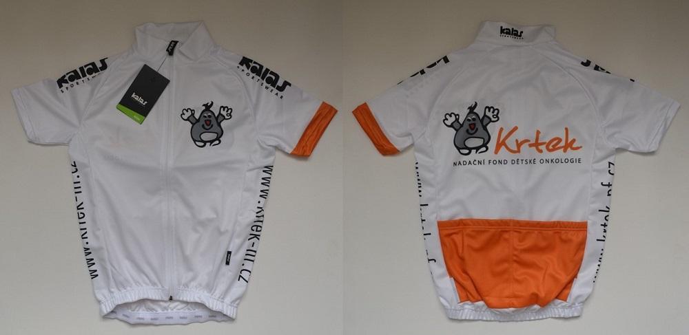 cyklistický dres pro děti (800,- Kč)