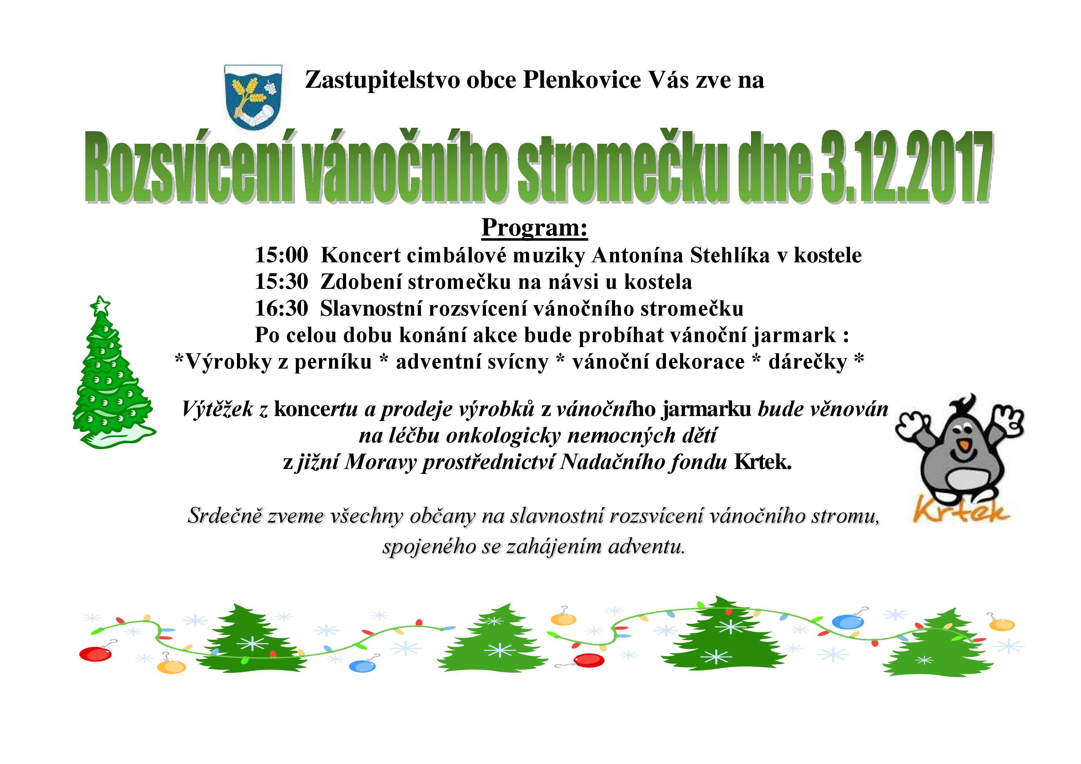 advent Plenkovice 2017