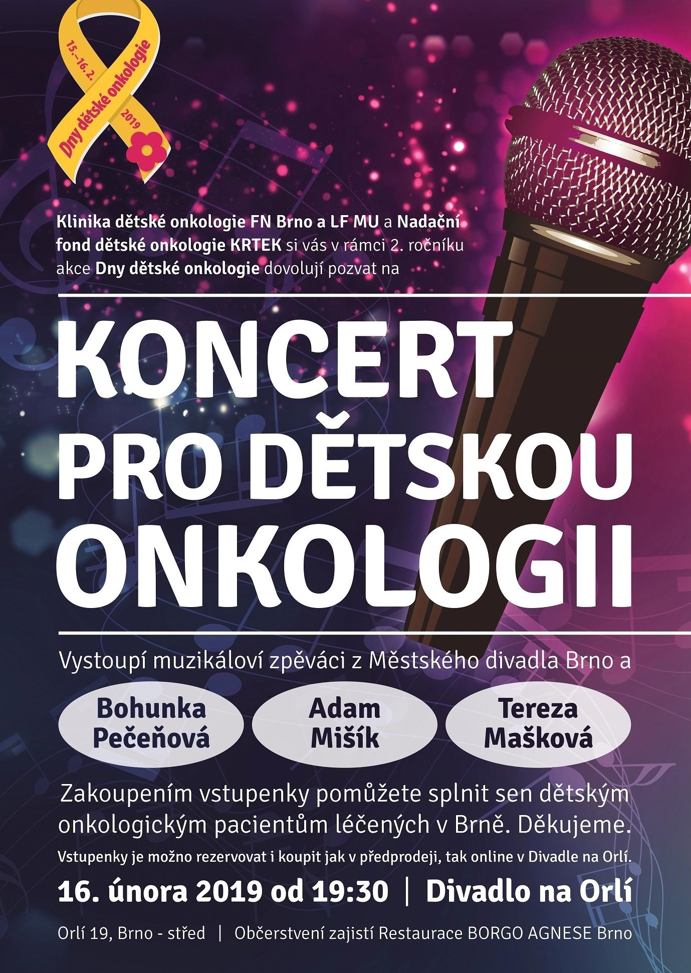 DDO plakát na koncert