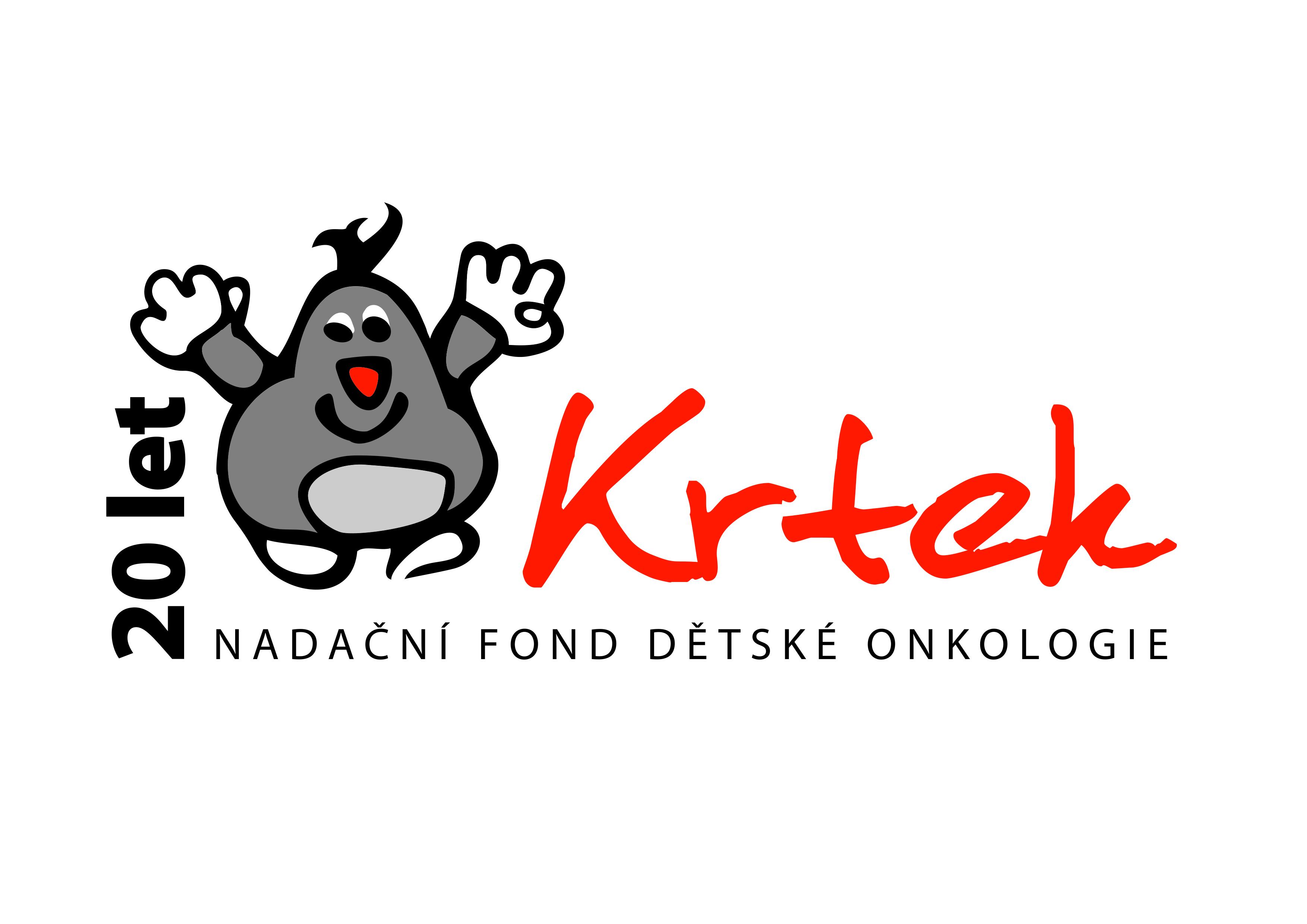 logo NDFO Krtek+20 let CMYK