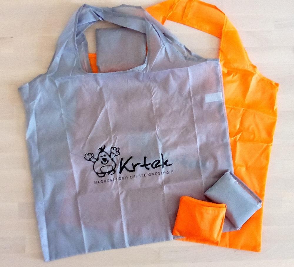 skládací nákupní taška (60,- Kč)